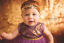 $20 Purple & Gold Royalty Size 6-12 Approx