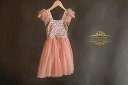 $20 Sequin & Pink Size 3-4