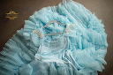 $50 Dollcake Her Baby Blue Frock Size 10