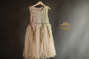$40 Gold Sequined Sparkle Dress Size 5-6