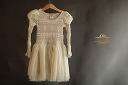 $20 Mia Baby Belle Cream Lace & Tulle Dress Size 2t-3t