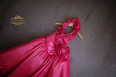 $20 Coral Fit & Flare Satin Size 4