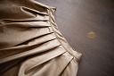 $20 Gold Leather Skirt Size 10